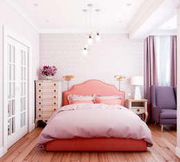 Projekty,  Sypialnia zaprojektowane przez Marina Sarkisyan