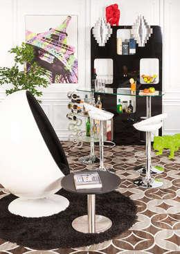 Décoration de hall d'entrée style retro: Couloir, entrée, escaliers de style de style Moderne par Alterego Design