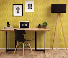 scandinavian Study/office by Alterego Design