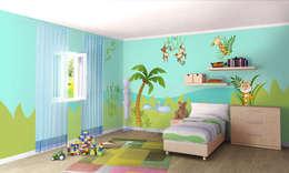 غرفة الأطفال تنفيذ LeoStickers®