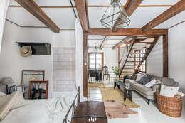 Chambre de style de style Rustique par dziurdziaprojekt