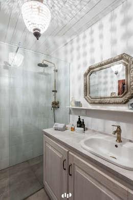 Ванные комнаты в . Автор – dziurdziaprojekt