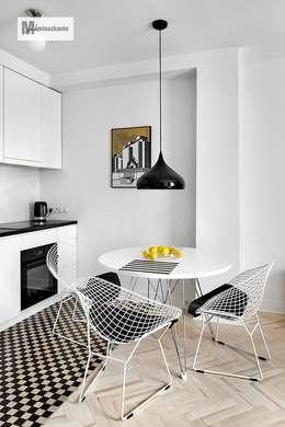 scandinavische Keuken door dziurdziaprojekt