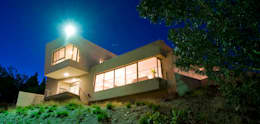 Fachada Principal 02: Casas de estilo moderno por Poggi Schmit Arquitectura
