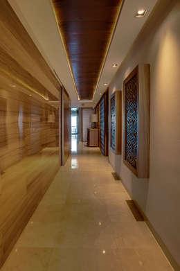 Corridor & hallway by Art.chitecture, Taller de Arquitectura e Interiorismo 📍 Cancún, México.