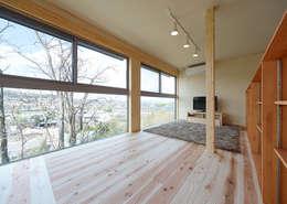 T-house: coil松村一輝建設計事務所が手掛けた子供部屋です。