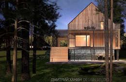 Dmitriy Khanin: minimal tarz tarz Evler
