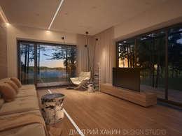 Projekty, minimalistyczne Domy zaprojektowane przez Dmitriy Khanin