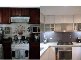 Una cocina con cambios:  de estilo  por Verde Urbano Arquitectura