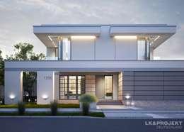Projekty, nowoczesne Domy zaprojektowane przez LK&Projekt GmbH