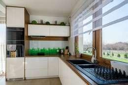 Cocinas de estilo moderno por Biuro Projektów MTM Styl - domywstylu.pl