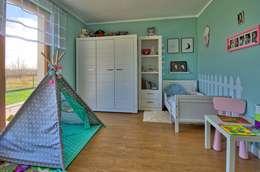 modern Nursery/kid's room by Biuro Projektów MTM Styl - domywstylu.pl