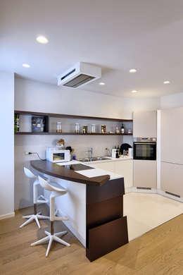modern Kitchen by Studio di Ingegneria BmT Associati
