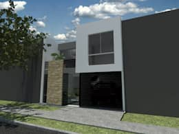 Casas de estilo moderno por MODOS Arquitectura
