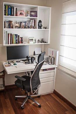 Oficinas de estilo moderno por canatelli arquitetura e design