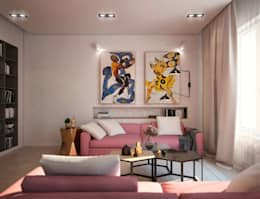 Ruang Keluarga by tatarintsevadesign