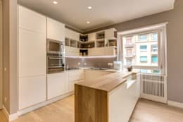 moderne Keuken door MOB ARCHITECTS