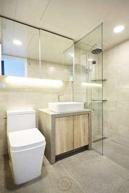 BATH ROOM 2: 제이앤예림design의  화장실