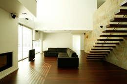 غرفة المعيشة تنفيذ Central Projectos
