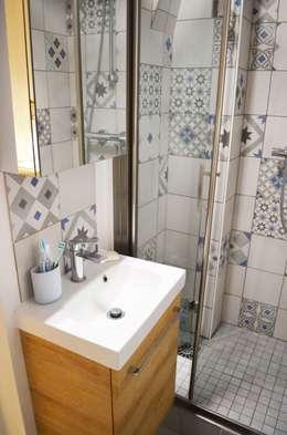 Baños de estilo escandinavo por Sandrine Carré