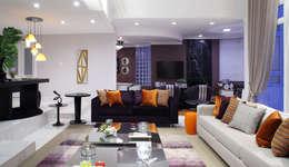 Salas / recibidores de estilo moderno por Studio 262 - arquitetura interiores paisagismo