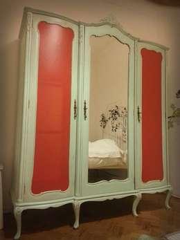 Dormitorios de estilo rural por Pode Ser!