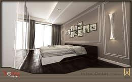 W DESIGN İÇ MİMARLIK – Yatak Odası: modern tarz Yatak Odası
