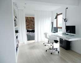 MINIMOO Architektura Wnętrz의  서재 & 사무실