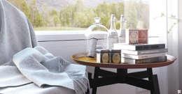 Mañanas en el sur: Dormitorios de estilo escandinavo por SF Render
