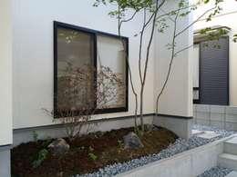 Jardines de estilo moderno por 株式会社 砂土居造園/SUNADOI LANDSCAPE