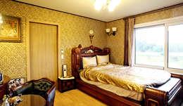 내부 인테리어 - 안방: 엔디하임 - ndhaim의  침실