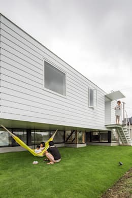 KAWATE: 武藤圭太郎建築設計事務所が手掛けた庭です。