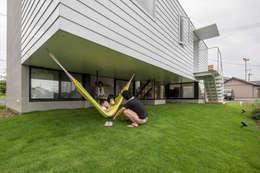 KAWATE: KEITARO MUTO ARCHITECTSが手掛けた庭です。