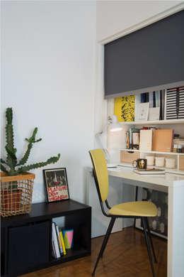 37m2 repensé comme un mini loft: Bureau de style de style Industriel par Alguma Coisa Design