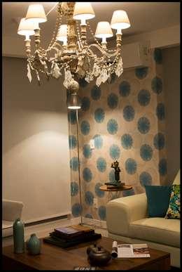 Ecléctico... : Livings de estilo ecléctico por Diseñadora Lucia Casanova