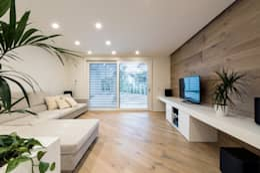 Salas de estar modernas por Tommaso Giunchi Architect