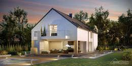 Projekt domu HomeKONCEPT-35: styl nowoczesne, w kategorii Domy zaprojektowany przez HomeKONCEPT | Projekty Domów Nowoczesnych