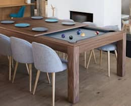 modern Dining room by Fusion Tables