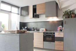 Mixwood keuken in Groningen: moderne Keuken door Studio Martijn Westphal