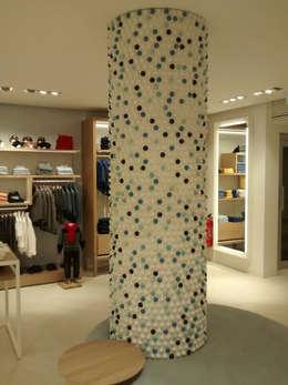 Interiores modernos 10 ideas que har n lucir las - Columnas decoracion interiores ...