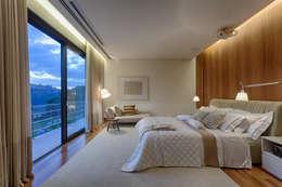 Bruna Figueiredo Arquitetura e Interiores의  침실