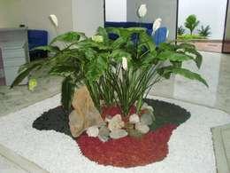 de estilo  por Jardines Paisajismo Y Decoraciones Elyflor