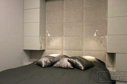 Komfortowe studio: styl , w kategorii Sypialnia zaprojektowany przez Koncepcja Wnętrz