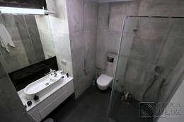 Komfortowe studio: styl , w kategorii Łazienka zaprojektowany przez Koncepcja Wnętrz