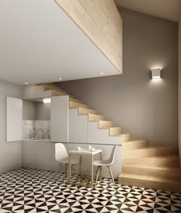David Bilo | Arquitecto: minimal tarz tarz Yemek Odası