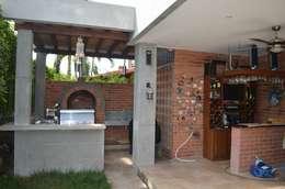 : Terrazas de estilo  por Arquitecta Vitcha M