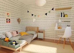 Dormitorios infantiles de estilo escandinavo por 3Deko