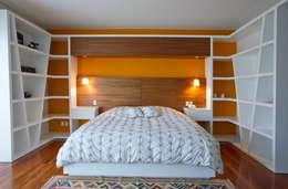 Спальни в . Автор – DIN Interiorismo