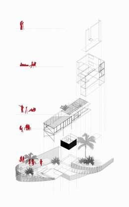 CASA MIRADOR:  de estilo  por 2.8 I NIKOLAS BRICEÑO arquitecto