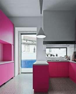 Projekty,  Kuchnia zaprojektowane przez Casa Viva Obras